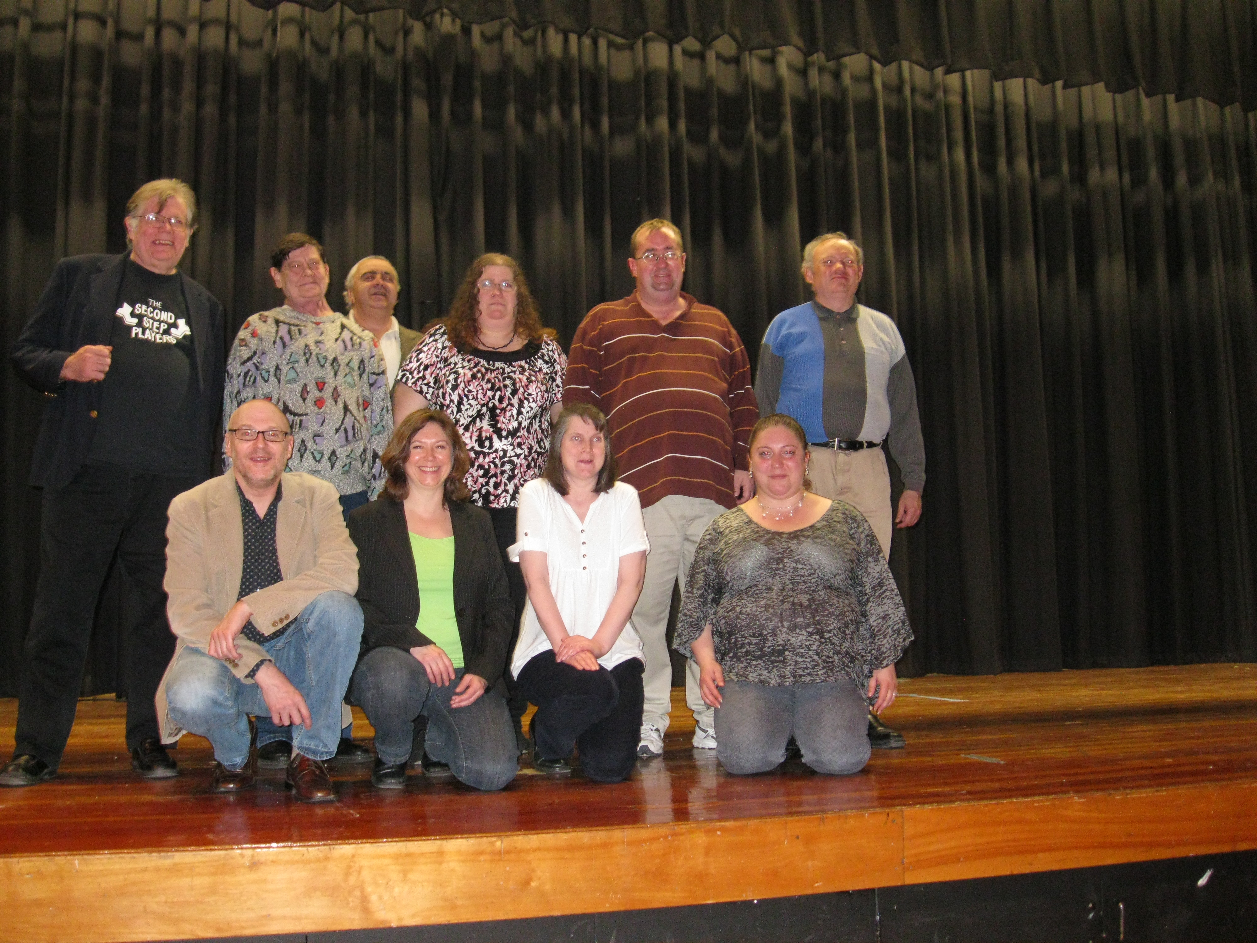 Our Stand Up For Mental Health Connecticut group after a show in Middletown, Connecticut