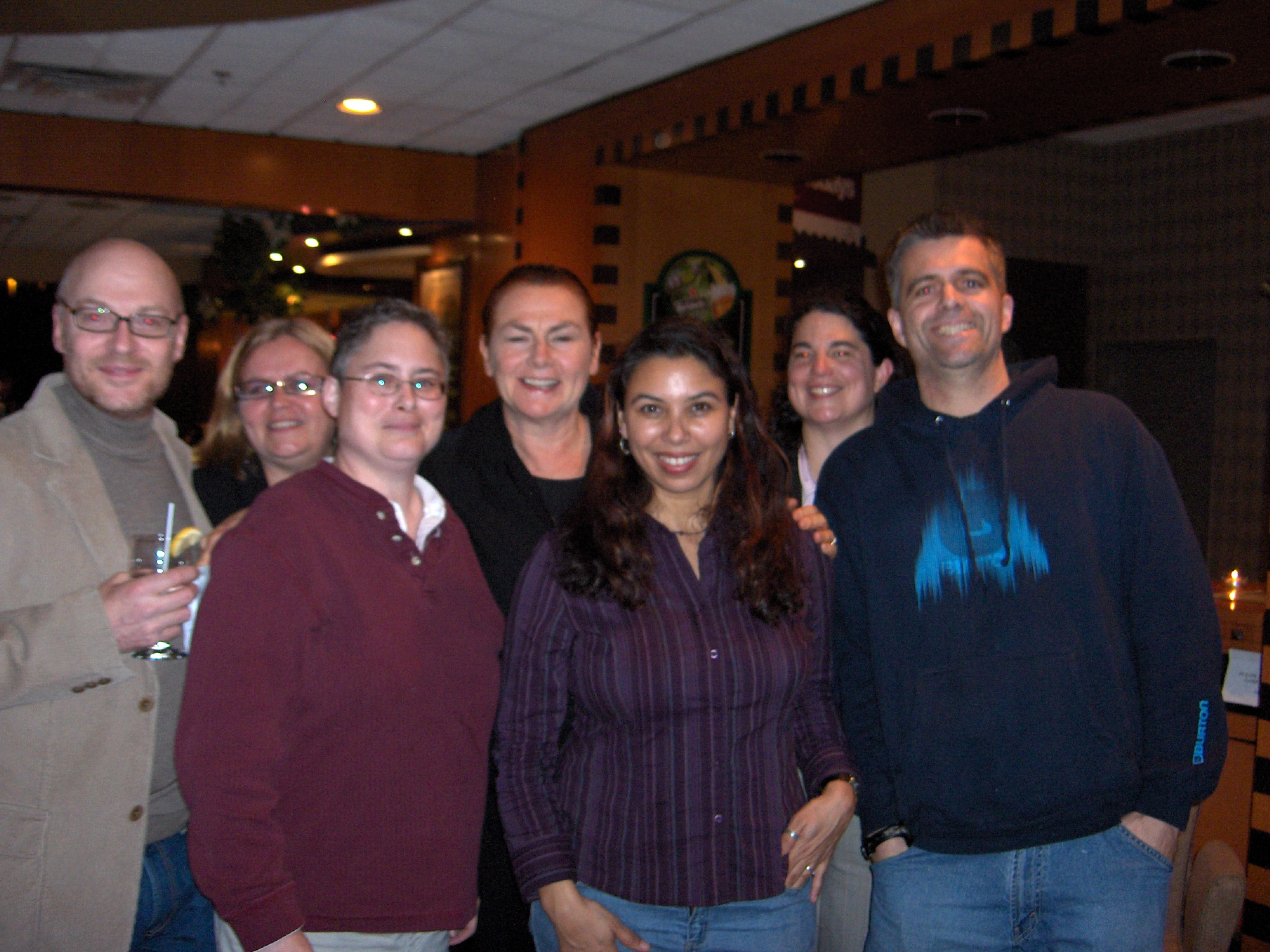 Some of our Ottawa comics with famous Canadian actor Mary Walsh who generously agreed to host one of our shows